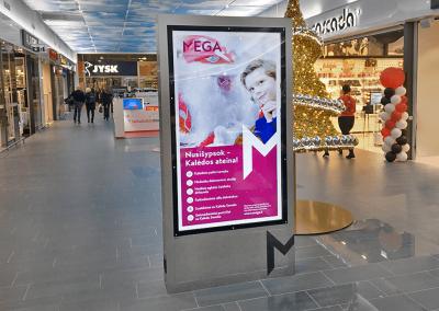 Reklaminiai ekranai, pilonai, interaktyvus stendai (4)