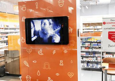 Reklaminiai ekranai, pilonai, interaktyvus stendai (5)